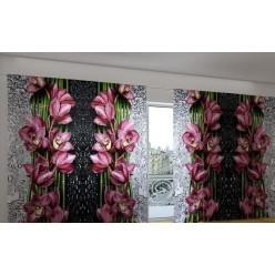 Красивые 3D шторы