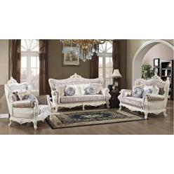 Классическая мягкая мебель Идальго в холл, стиль барокко