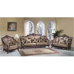 Классический кожаный мебельный гарнитур Султан