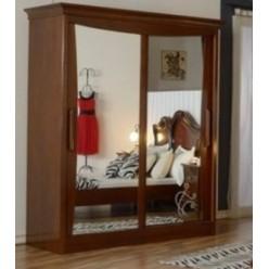 Шкаф-купе в спальню Капри, Мобекс