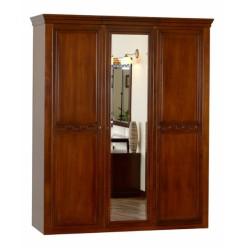 Деревянный шкаф с зеркалами Анастасия, Мобекс