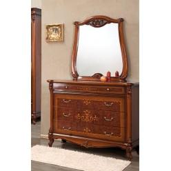 Комод с зеркалом в спальню Контесса (CONTESSA)