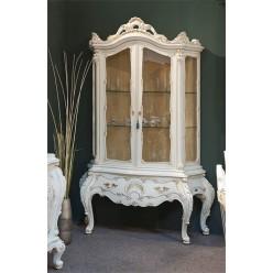 Витрина двухдверная в стиле барокко в гостиную Клеопатра Люкс (Cleopatra Lux)