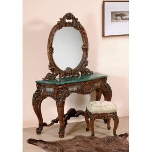 Резной туалетный стол в спальню Клеопатра Люкс