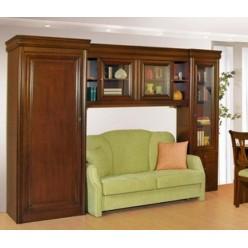 Шкаф-библиотека в молодежный мебельный гарнитур Анка