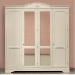 Шкаф четырехдверный в спальню Артемида