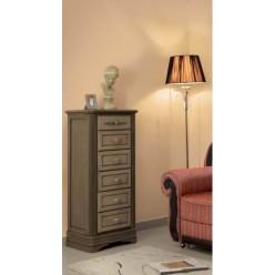 Классический высокий комод в мебельный гарнитур Артемида