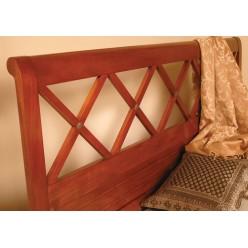 Кровать с резным изголовьем в спальный гарнитур Канту