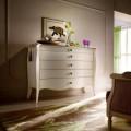 Белый классический комод в спальню Шарм