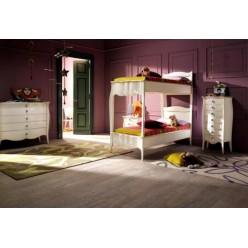 Двухъярусная кровать в подростковую комнату Шарм