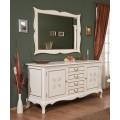 Комод с зеркало в гостиный гарнитур Кора