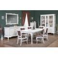 Белая мебель в гостиную Кора от производителя Симекс