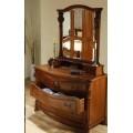 Комод с зеркалом в коллекцию мебели Элис  (Elysee)