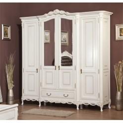 Шкаф четырехдверный в спальню Флора (Flora)