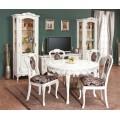 Белая мебель в столовую Флора Симекс Румыния
