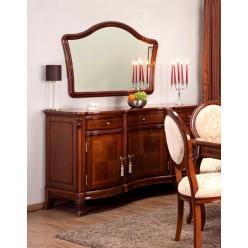 Буфет трехдверный с зеркалом в гостиную Фирензе  (FIRENZE) Симекс