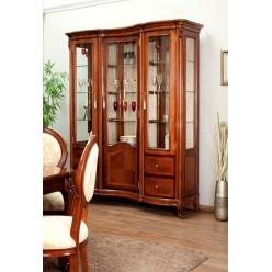 Классическая трехдверная витрина в гостиную Фирензе  FIRENZE