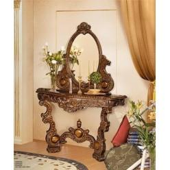 Консоль с зеркало в коллекцию мебели Флоренца