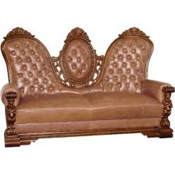 Диван трехместный с креслами в холл Флоренца