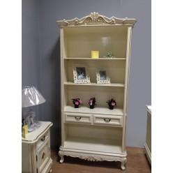 Классическая белая этажерка в молодежную спальню Фреш