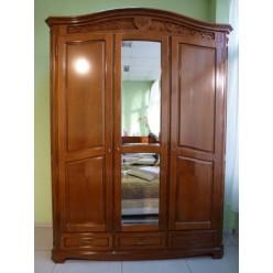 Шкаф четырехдверный в спальню Джино