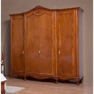 Шкаф четырехдверный одежный в спальню Джулия