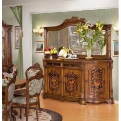 Буфет четырехдверный в коллекцию мебели Юлианна