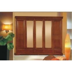 Шкаф одежный в спальный гарнитур Жасмин ( Алма)