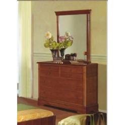 Комод с зеркалом в спальню Жасмин (Алма)