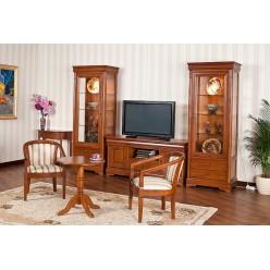 Комод ТВ Плазма с витринами в гостиную Жасмин (Алма)