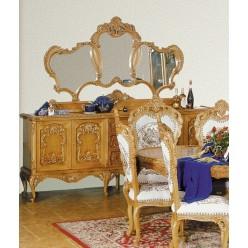 Буфет четырехдверный в стиле барокко в гостиную Л. Л.