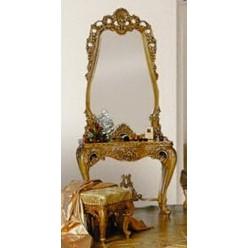 Классический резной столик в стиле барокко в спальню Л.Л