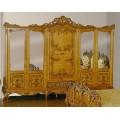 Шкаф резной шестидверный в спальню Л.Л. в стиле барокко