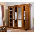 Шкаф одежный четырехдверный в спальный гарнитур Лючия (Lucia)