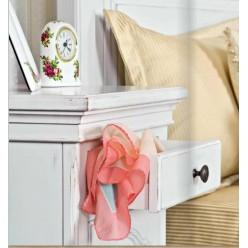 Тумбочка прикроватная в спальный гарнитур Лаванда