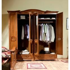 Шкаф четырехдверный в мебельный гарнитур Марина (Marina)