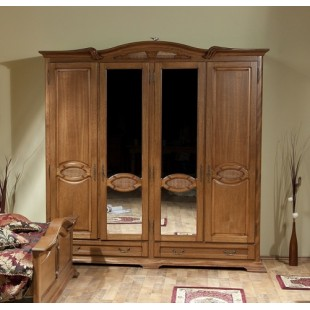 Шкаф четырехдверный в мебельный гарнитур Марина