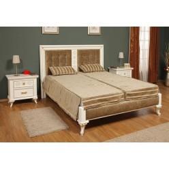 Кровать 1600 в спальный гарнитур Мелоди (MELODY)