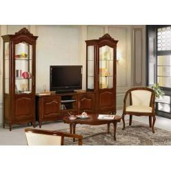 ТВ Комод с витринами в коллекцию мебели Могадор