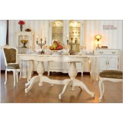 Стол со стульями в классический гарнитур Могадор