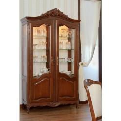 Витрина двухдверная в мебельный гарнитур Могадор Мобекс