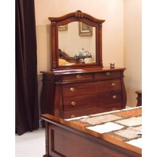 Комод с зеркалом в спальню Орфео