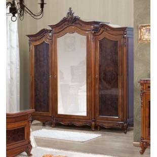 Шкаф трехстворочный в спальный гарнитур Поэзис