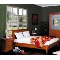 Классическая кровать в цвете орех в спальный гарнитур Палаззо