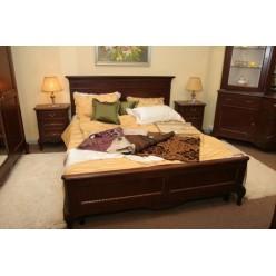 Кровать с прямым изголовьем в спальню Париж