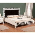 Интересная интерьерная кровать в спальню Равена (RAVENA) Симекс