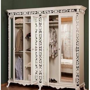 Шкаф четырехдверный в спальный гарнитур Равена