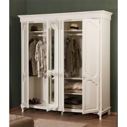 Шкаф четырехстворочный в спальню Рита