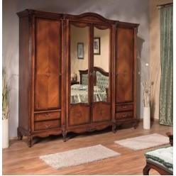 Шкаф классический пятидверный в спальный гарнитур Регалис