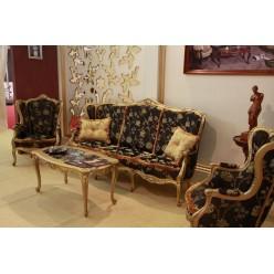 Диван трехместный с креслами Амадеус